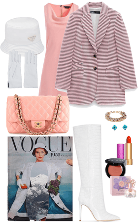 Vogue Vintage Cover Inspired