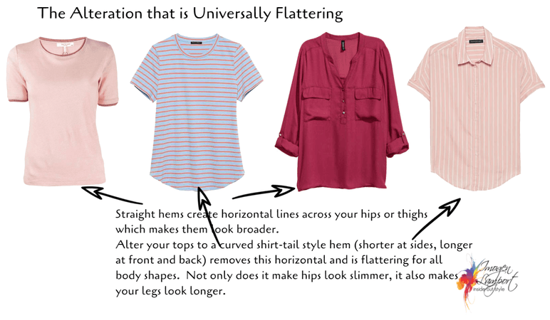 alteration for tops that is flattering