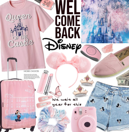 Welcome Back Disney| pink Disney