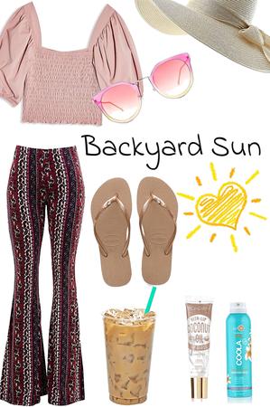 backyard sun