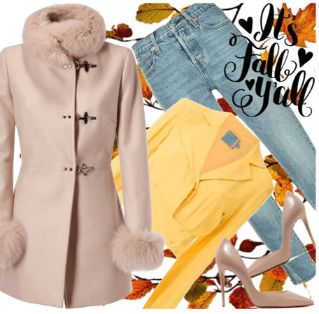 Casual office style - fall