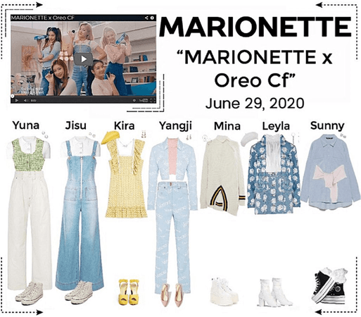 MARIONETTE (마리오네트) Oreo CF