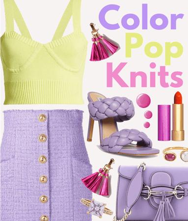 Color Pop Knits