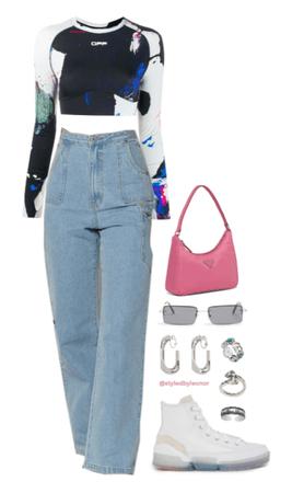 Casual Street Wear Look
