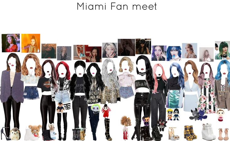 Fan meet + MIAMI +