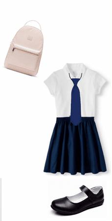 school uniform!👚👖👞