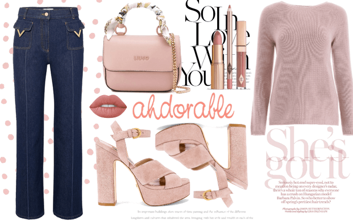Dusty Pink Sweater;