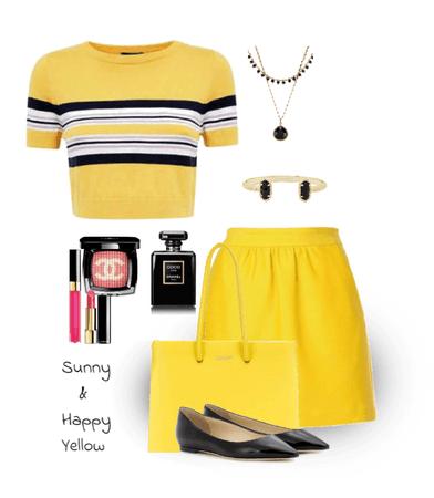 Sunny Yellow