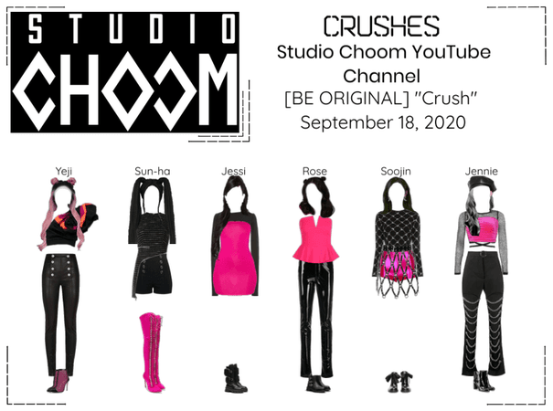 Crushes (호감) Studio Choom YouTube Video