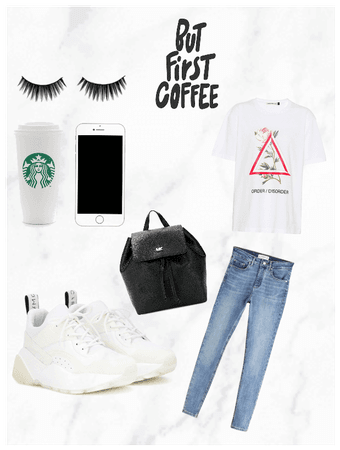 Girl whose always late for class