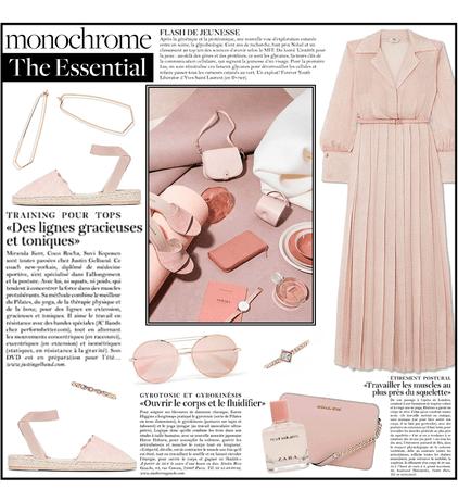 Dusty Pink Summer Monochrome.....