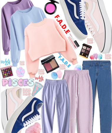 Pisces ♓️ Cotton Candy 🍭 Style 👗