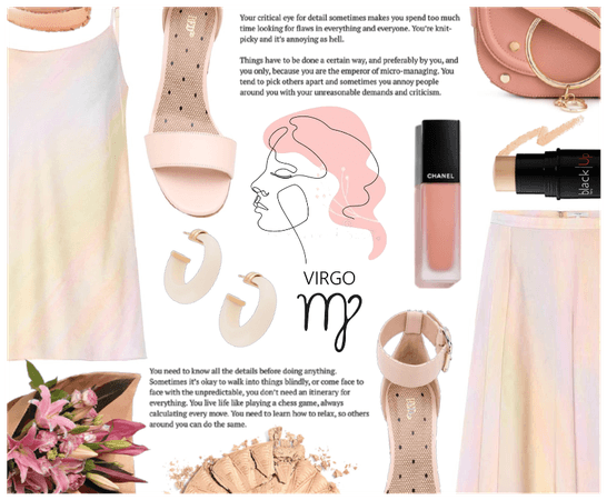 Virgo Nation ( Peach + Tint of neutral Palette )