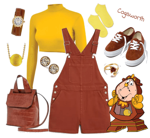 Cogsworth outfit - Disneybounding - Disney