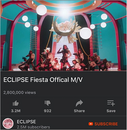 ECLIPSE Fiesta Offical M/V