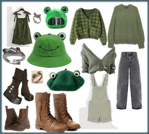 Goblincore Green