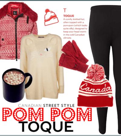 Canadian Street Style: The Pom Pom Toque