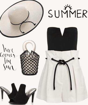 Summer Brim Hat