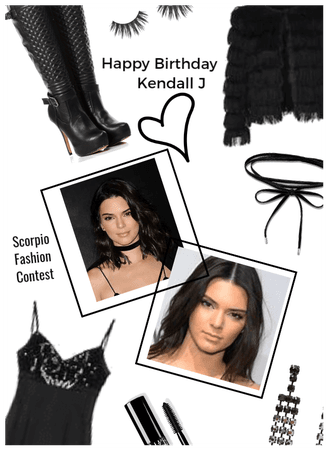 Happy Birthday today Kendall J/Scorpio contest