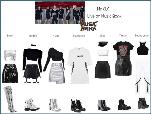 Me CLC Live on Music Bank