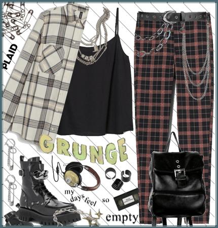 Grunge style - plaid