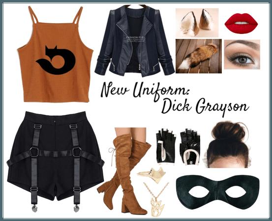 New Uniform: Dick Grayson