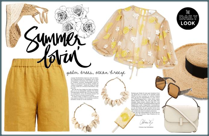 # Summer Hat Trend Challenge: Yellow Pop