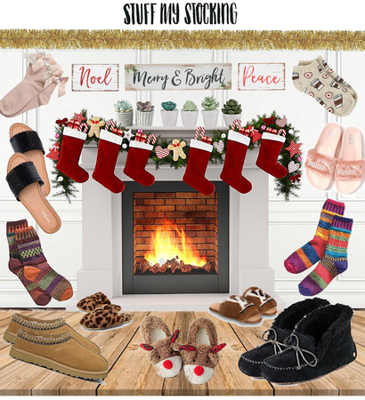 Stuff Your Stocking With Slippers and Socks!