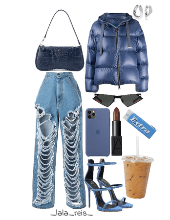 Blue Stylish Outfit