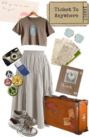 travelling hippie