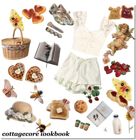 cottagecore style Challenge set