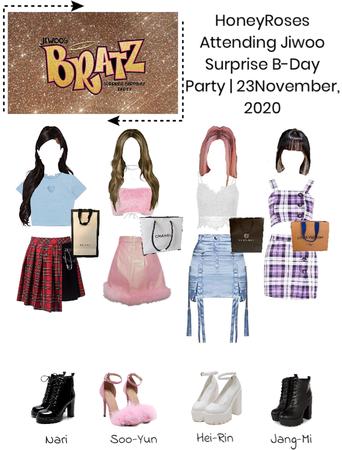 HoneyRoses attended Jiwoo surprise b-day party | November 23, 2020