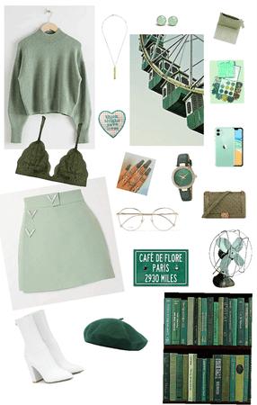 Groovy in Green