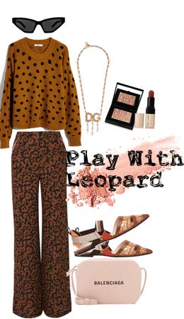 leopard outifit