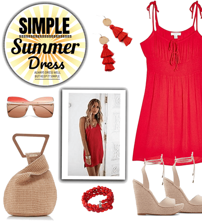 Simple Summer Dress