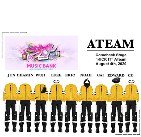 "ATeam ""Kick It"" ComeBack Stage"
