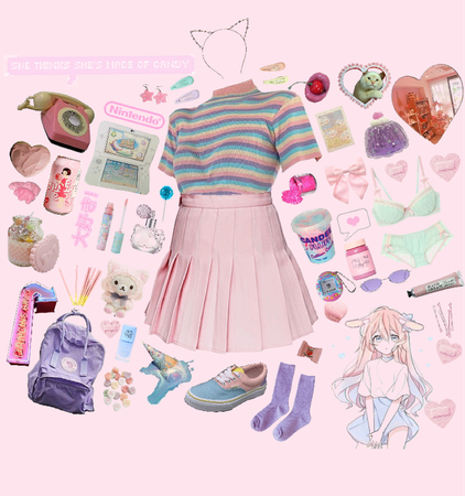 Kawaii Gamer Outfit Shoplook