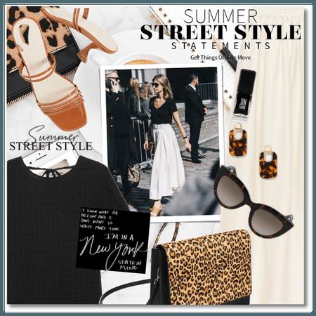 Summer Street Style Statements