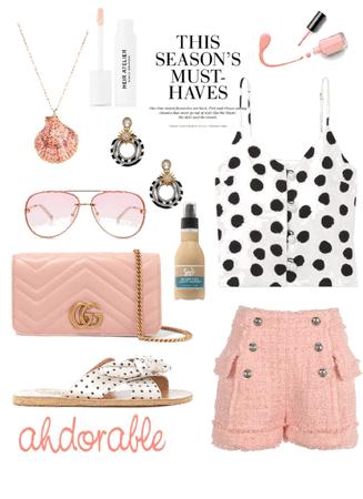 Polka Dots and Pink