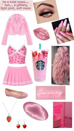 Pink Drink Look 💗🍓