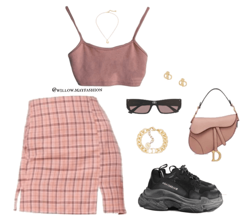 Monochromatic Pinks ft Miss Dior&Balenciaga