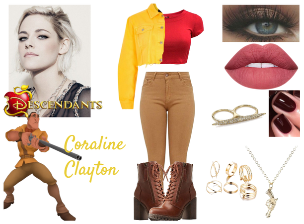 Coraline Clayton - Isle of the Lost