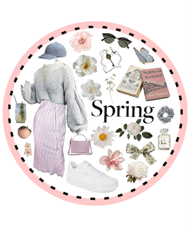 spring midi/bell sleeve sweater