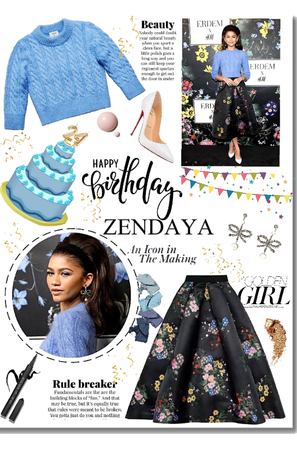 Birthday Girl Zendaya
