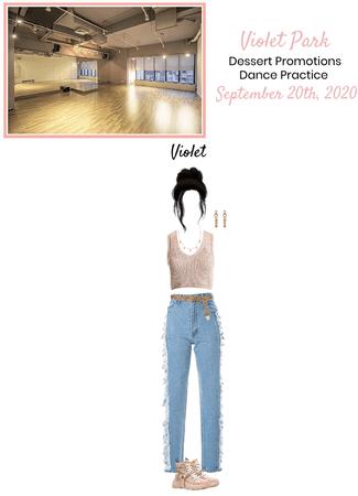 VioletPark _ Dessert _ Dance Practice