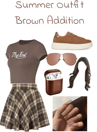 Summer Outfit! (Brown Addition)