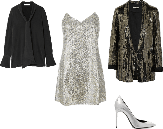 sequined night out