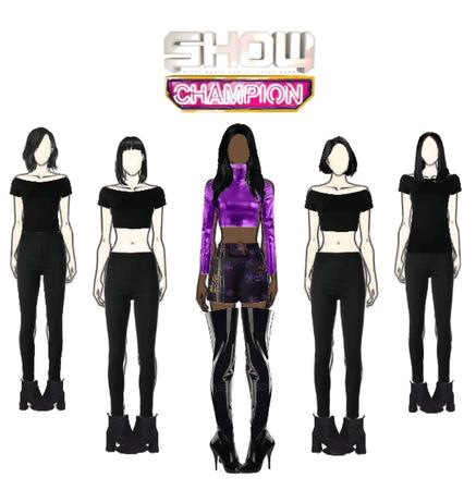 🖤Grace solo Show Champion performance🖤
