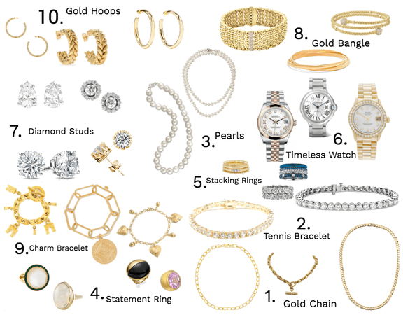 10 Classic Pieces of Jewelry Everyone Should Own