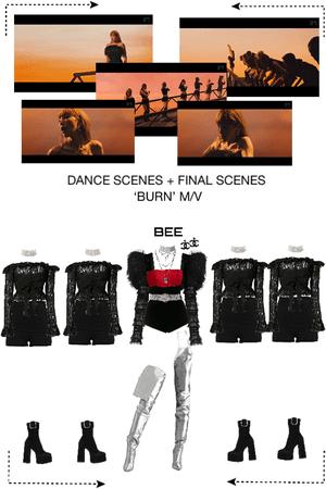 BEE (벌) DANCE AND FINAL SCENES - 'BURN' MV